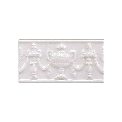 Adex USA Hampton Listello Empire 3 x 6 White ADHWH105