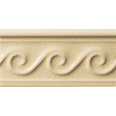 Adex USA Hampton Listello Waves 3 x 6 Sand