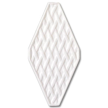 Adex USA Neri Diamond Trellis White ADNZ784
