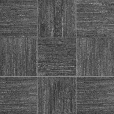 American Florim Stratos 12 x 24 Semi - Polished Antracite 1095261