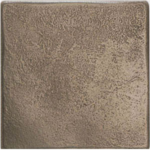American Olean Artistic Elements Metalworks Stone Surface 6 x 6 Antique Bronze MW0166T1P