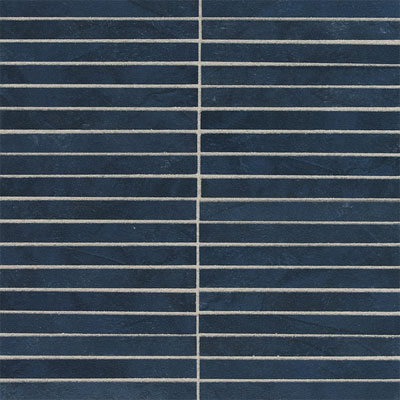 American Olean Avenue One 1/2 x 6 Mosaic Midnight Sky AU0716MS1P