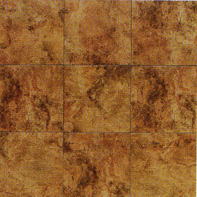 American Olean Baycliff 6 x 6 (Dropped) Sunset Red BY04661P2