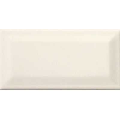 American Olean Profiles Bright Beveled 3 x 6 Biscuit