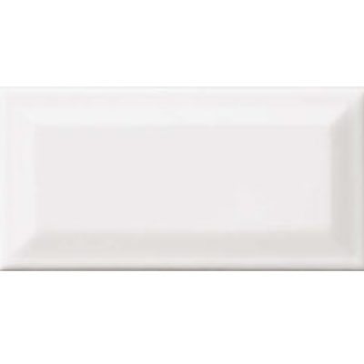 American Olean Profiles Bright Beveled 3 x 6 Ice white