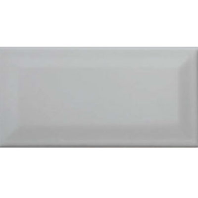 American Olean Profiles Bright Beveled 3 x 6 Light Smoke