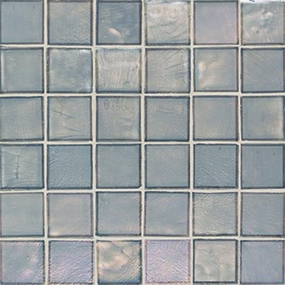 American Olean Candalara Glass Square Mosaic Silver lake CL5122PM1P