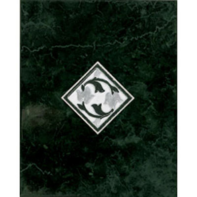 American Olean Courtland Decorative Wall Tiles Dark Green CU05810DECOA1P