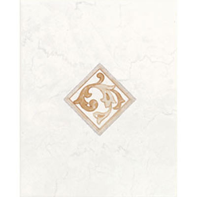 American Olean Courtland Decorative Wall Tiles White CU01810DECOA1P