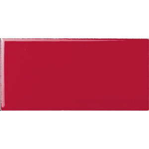American Olean Greenwich Village 3 x 6 Ruby Red 012136MODSP