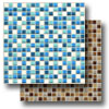 Legacy Glass Mosaic 5/8 x 5/8 Blends