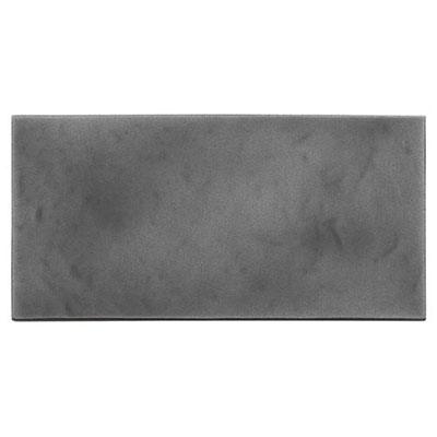 American Olean Refined Metals 4 x 8 Hammered Gloss Gunmetal