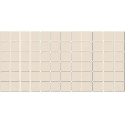 American Olean Satinbrites Glazed Ceramic 2 x 2 Almond 0Y1222MS1P2
