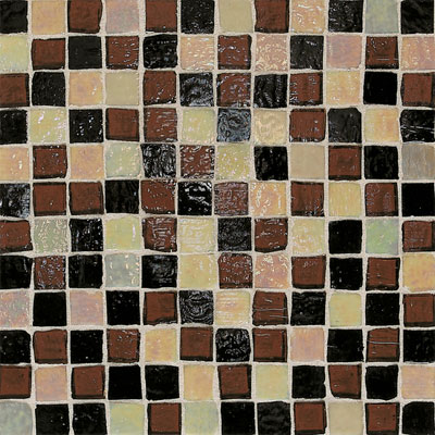 American Olean Solare Glass Mosaics Blends Deep Woods SO8711PM1P