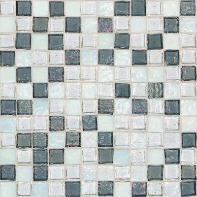 American Olean Solare Glass Mosaics Blends Glacier SO8811PM1P