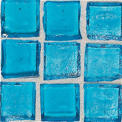 American Olean Solare Glass Mosaics Aqua SO69 11PM1P