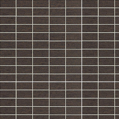 American Olean St Germain 2 x 1 Mosaic Chocolate SE65 12MS1P