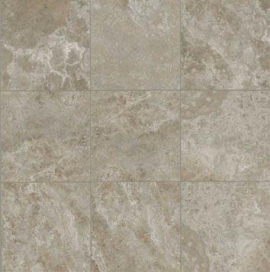 American Olean Stone Claire 20 x 20 Floor Ashen