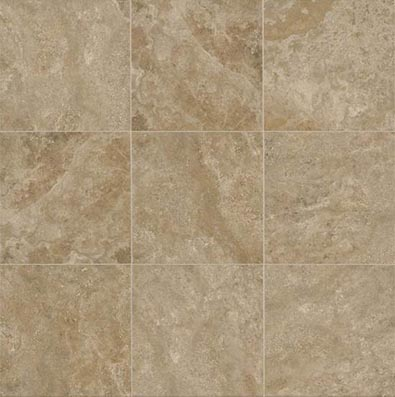 American Olean Stone Claire 20 x 20 Floor Russet