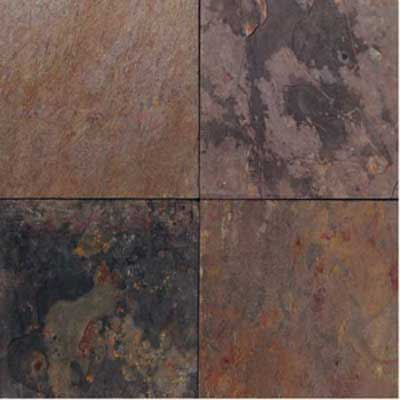 American Olean Stone Source 12 x 12 Indian Multicolor - Slate NL50 12121P