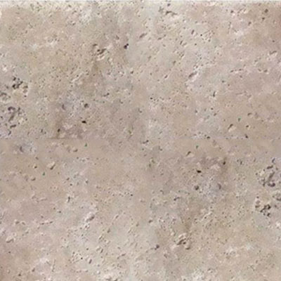 American Olean Stone Source Travertine Builder Select 6 x 6 Ivory Classico