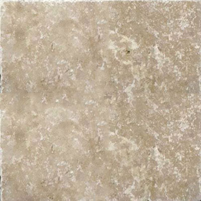 American Olean Stone Source Travertine Builder Select 6 x 6 Light Noce