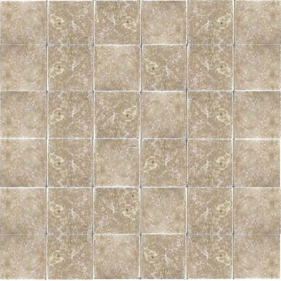 American Olean Stone Source Travertine Builder Select Mosaic Light Noce