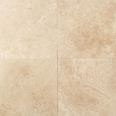 American Olean Stone Source Travertine 24 x 24 Mediterranean Ivory