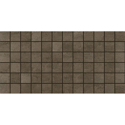 American Olean Theoretical Mosaic 2 x 2 Absolute Brown