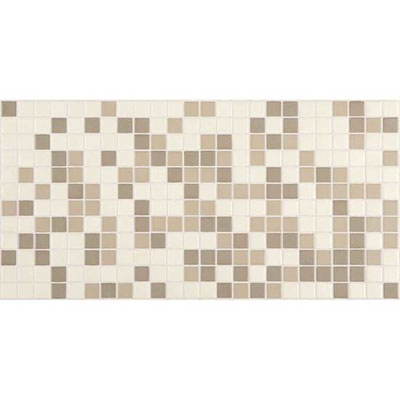 American Olean Unglazed Porcelain Mosaics Blends 1 x 1 Totally Neutral