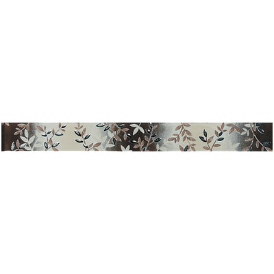 American Olean Urban Canvas Decorative Trim Eden Brown
