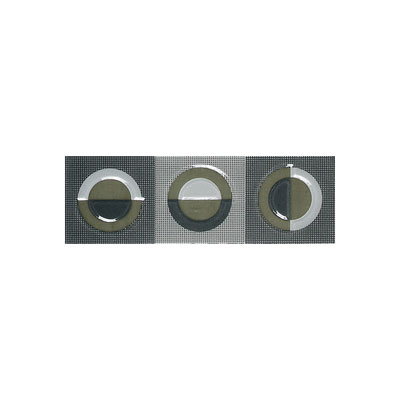American Olean Urban Canvas Decorative Trim Galaxy Gray-Art