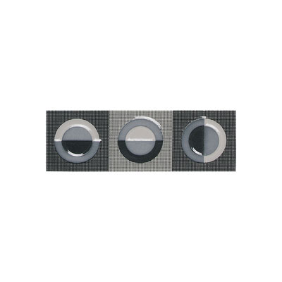 American Olean Urban Canvas Decorative Trim Galaxy Gray-Black