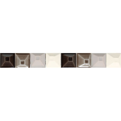 American Olean Urban Canvas Decorative Trim Modules Brown