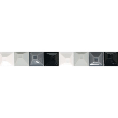 American Olean Urban Canvas Decorative Trim Modules Gray
