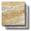 Travertine Chiseled & Brushed 16 x 16