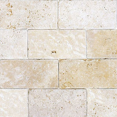 Anatolia Tile & Stone Travertine 3 x 6 Classic Ivory