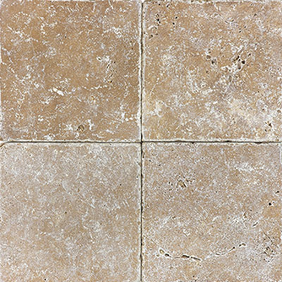 Anatolia Tile & Stone Travertine 6 x 6 Noce