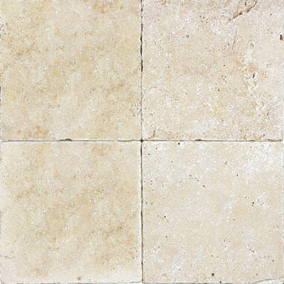 Anatolia Tile & Stone Travertine 6 x 6 Rustic Ivory