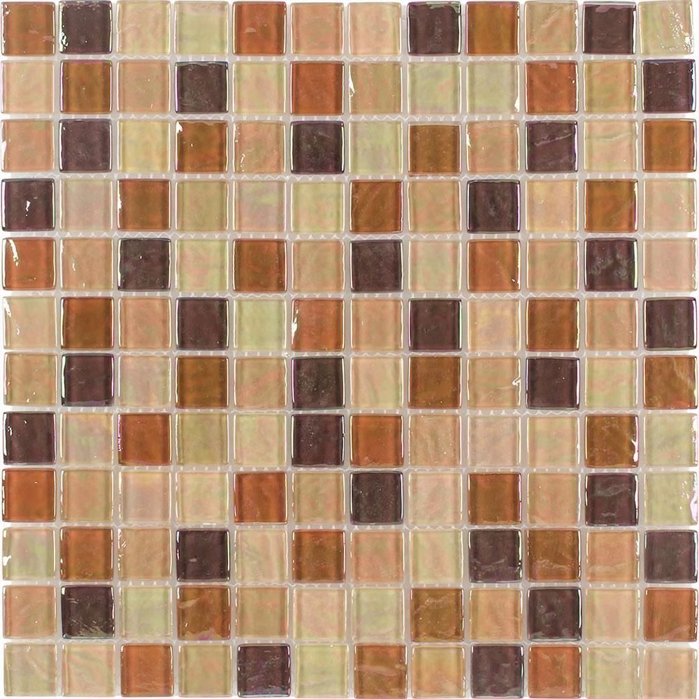 Aqua Art Iridescent Mosaic Tan Oil