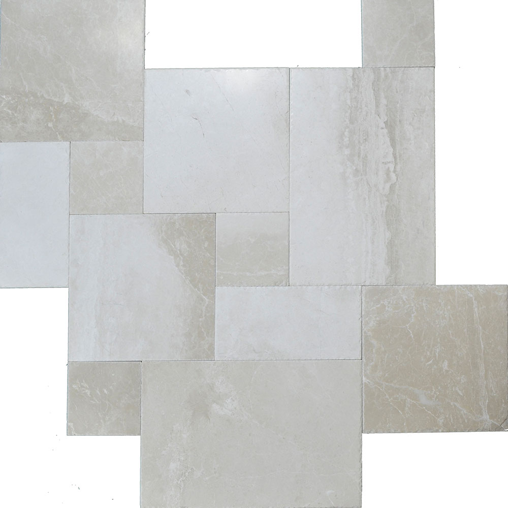 Atlantic Stone Source Marble French Pattern Botticino