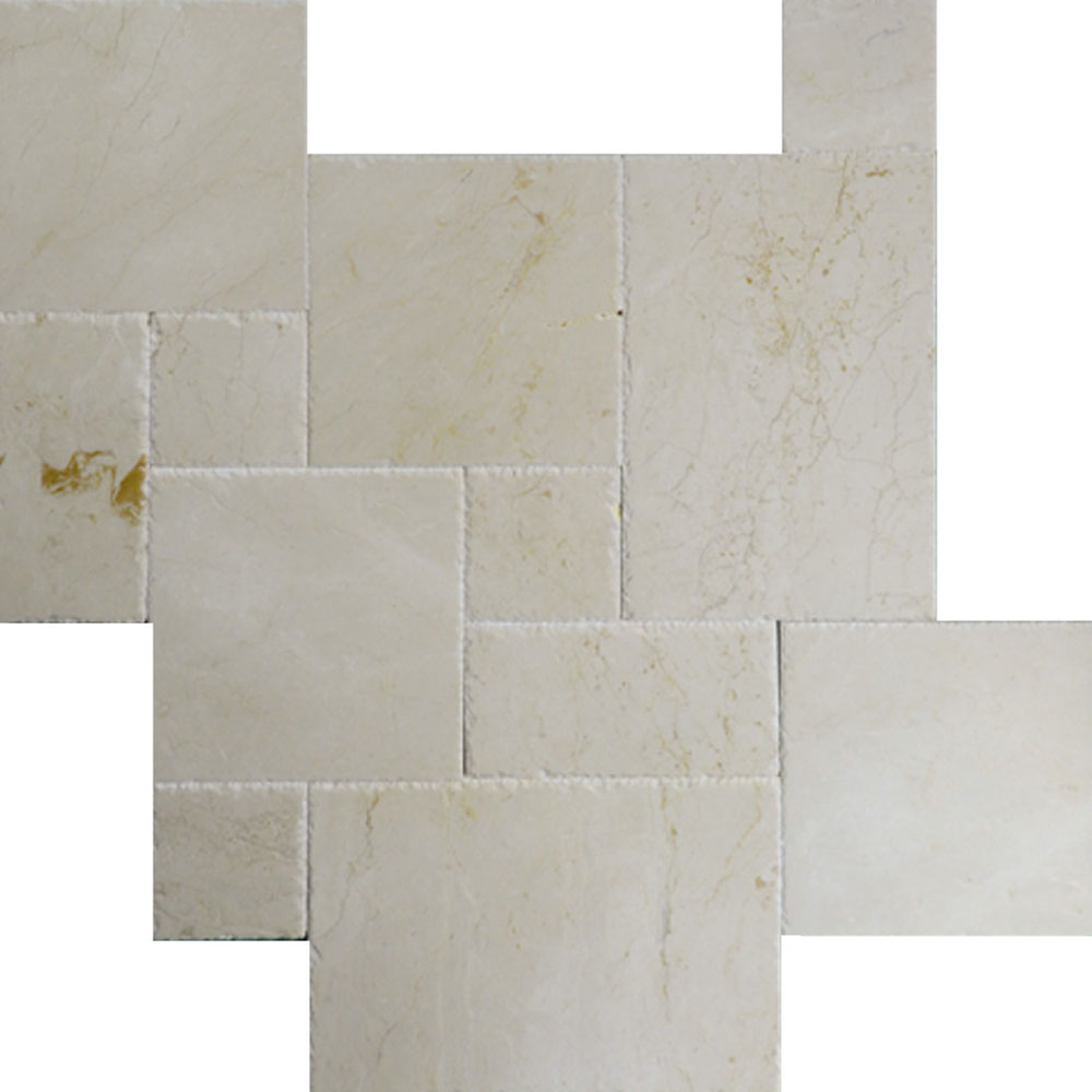Atlantic Stone Source Marble French Pattern Cream Fantasy