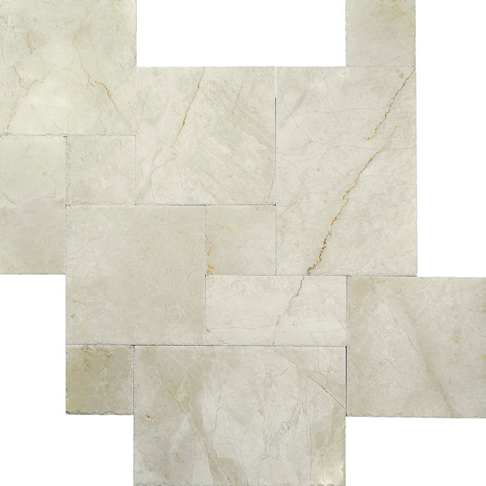 Atlantic Stone Source Marble French Pattern Cream Nouva