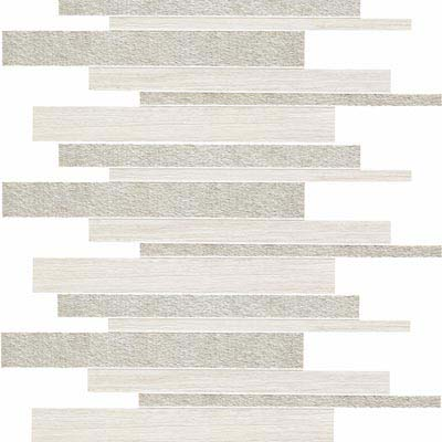 Atlas Concorde Sunrock Brick 12 x 24 Travertino White Brick