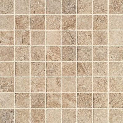 Atlas Concorde Travertini Mosaic 12 x 12 Almond