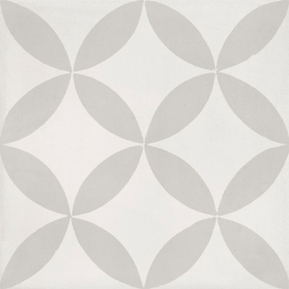 Bati Orient Cement Tiles Modern Decor 2 Off White Light Grey