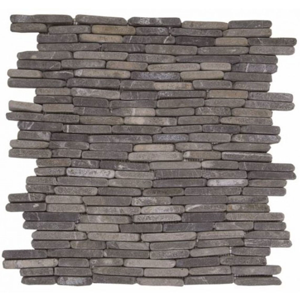 Bati Orient Marble Stacked Brick Grey