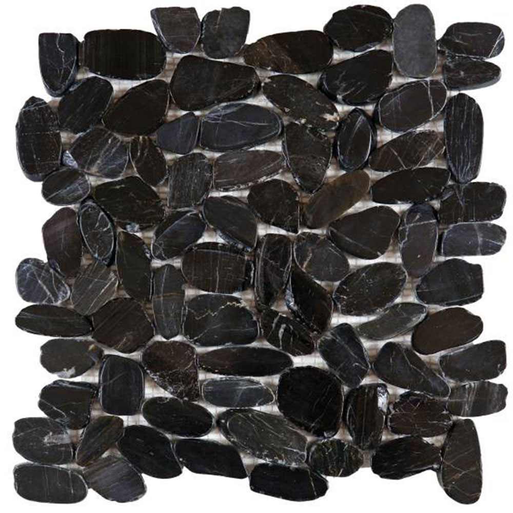 Bati Orient Pebbles Sliced Polished Black