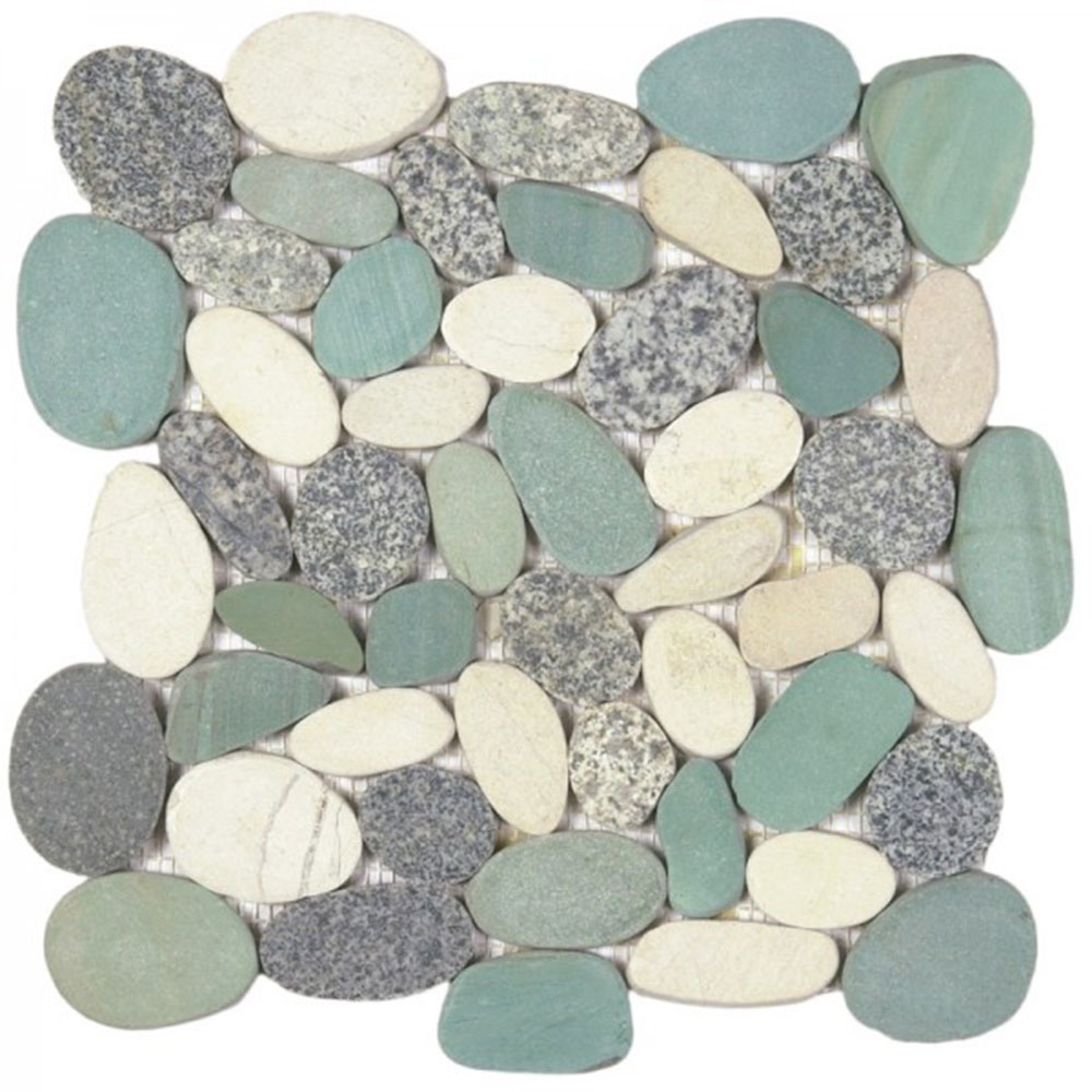 Bati Orient Pebbles Sliced XL Mix Grey Green White