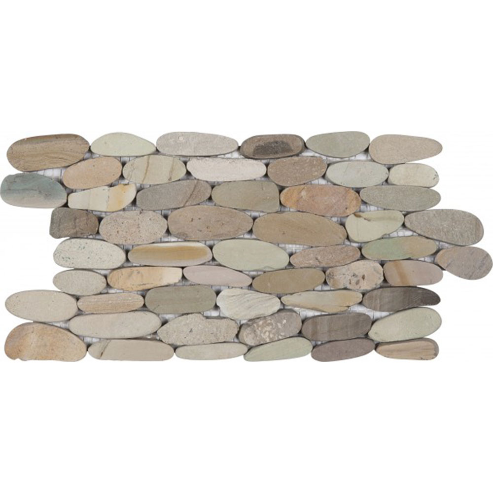 Bati Orient Pebbles Stacked Sliced Golden Mix